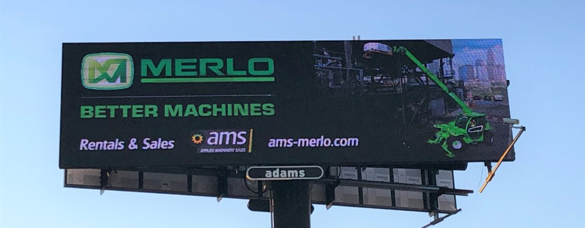 AMS-Merlo Rent Billboard