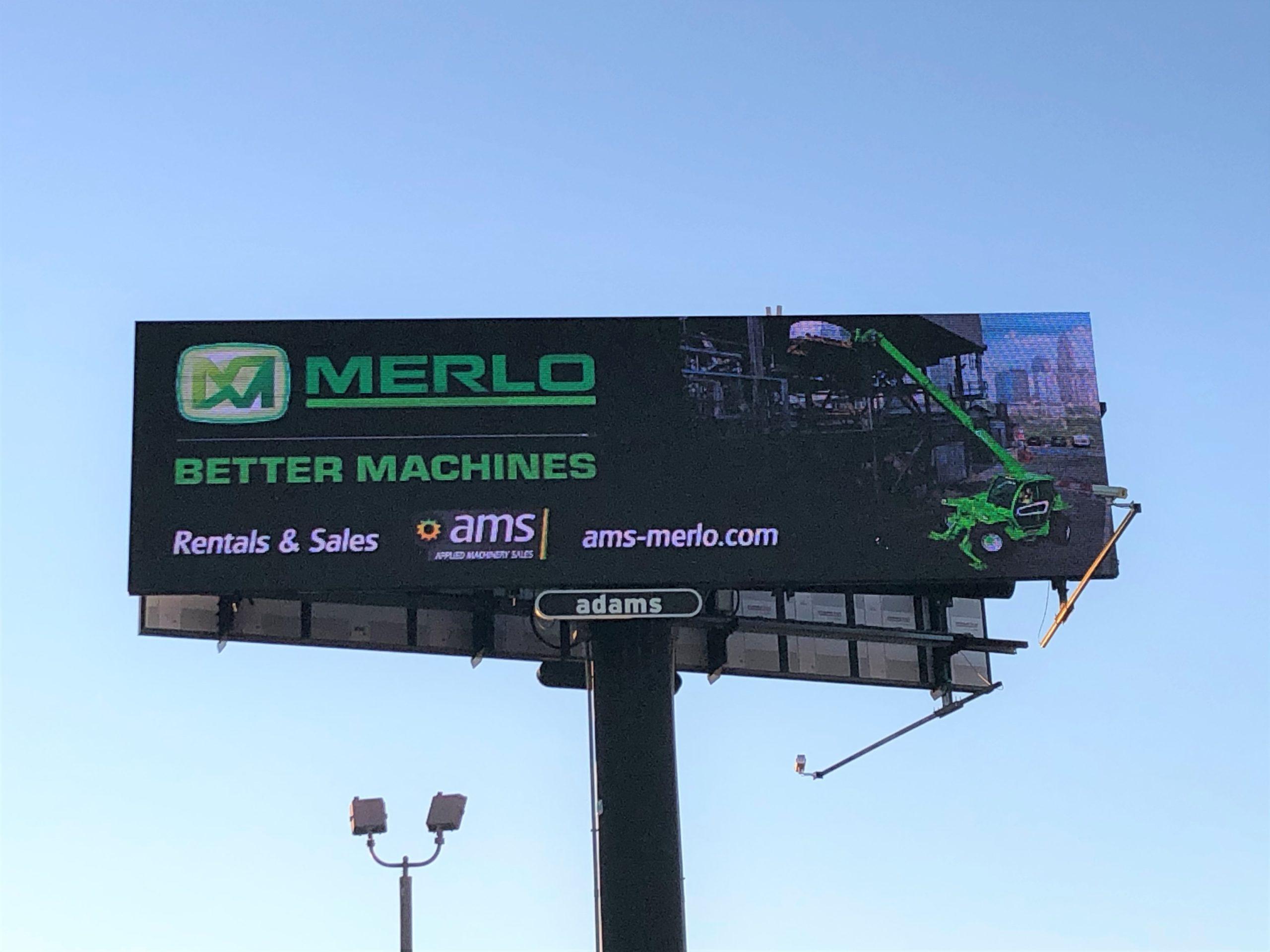 AMS-Merlo Rent Billboard